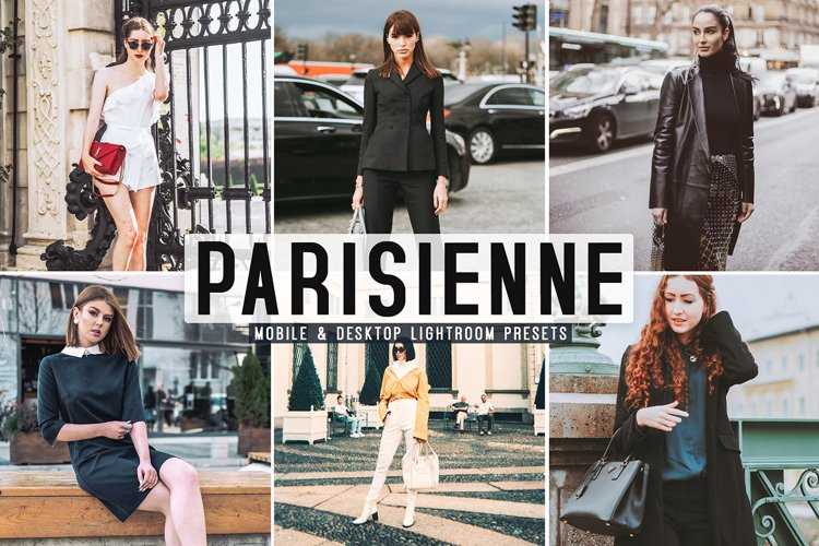 Parisienne Mobile & Desktop Lightroom Presets example image 1