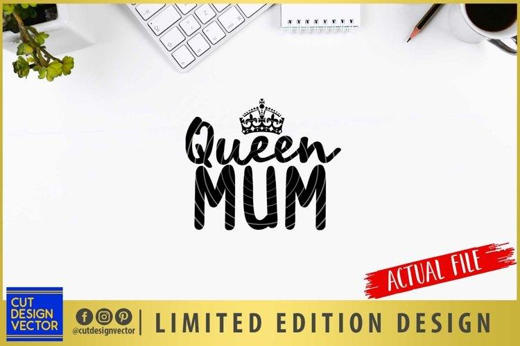 Queen Mum SVG