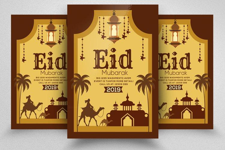 Eid al-Fitr Flyer Template example image 1