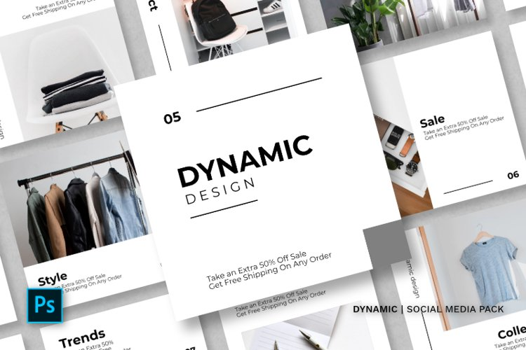 Dynamic Social Media Pack