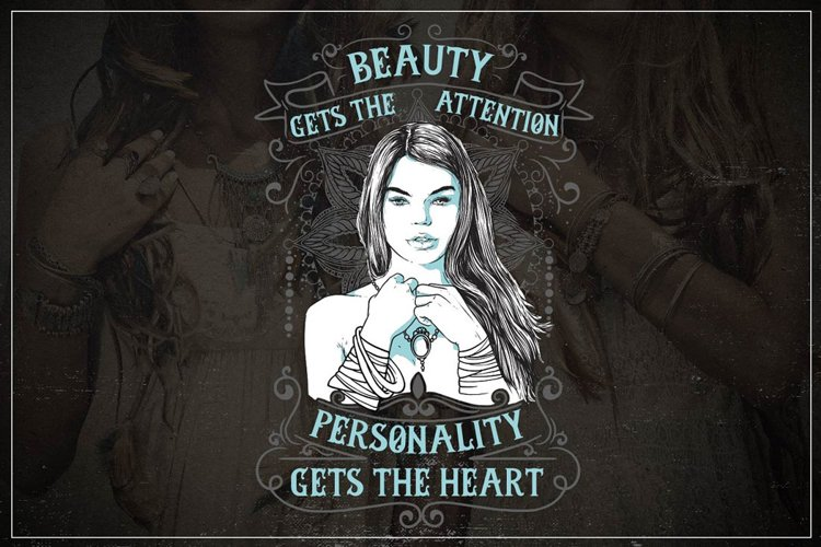 Beauty Gets The Attention example image 1