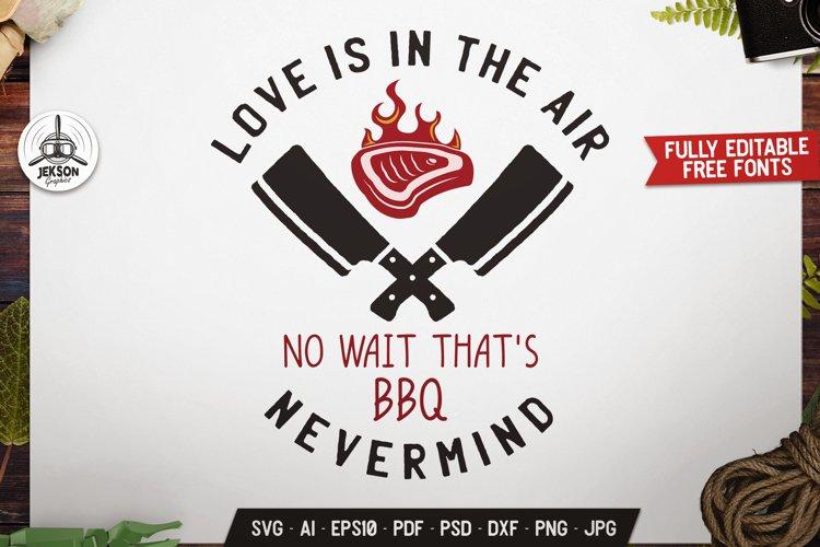 Grill Menu BBQ Logo Design Retro Vector Badge SVG Cut Files
