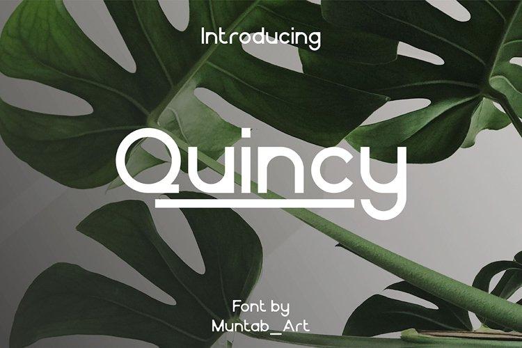 Quincy   Elegant Font example image 1