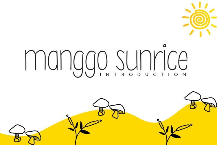 manggo sunrice example image 1