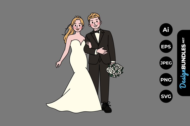 Wedding Clipart example image 1