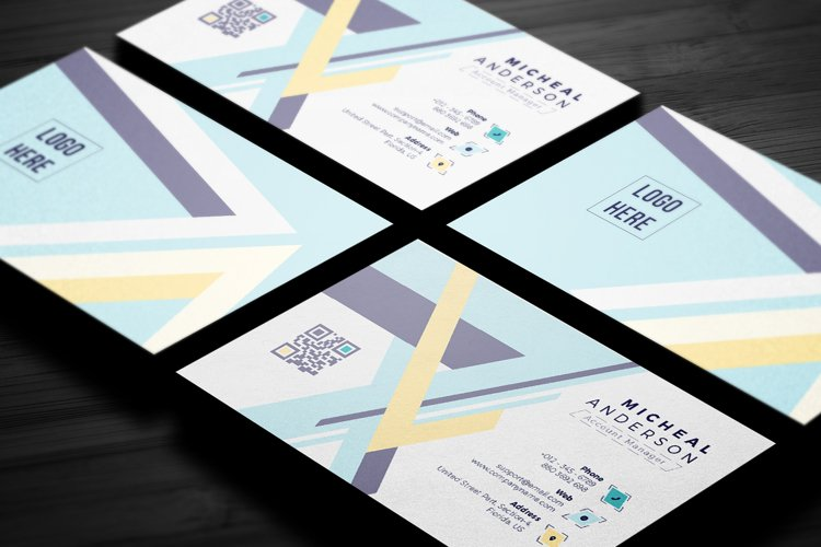 Modern Business Card Template example image 1