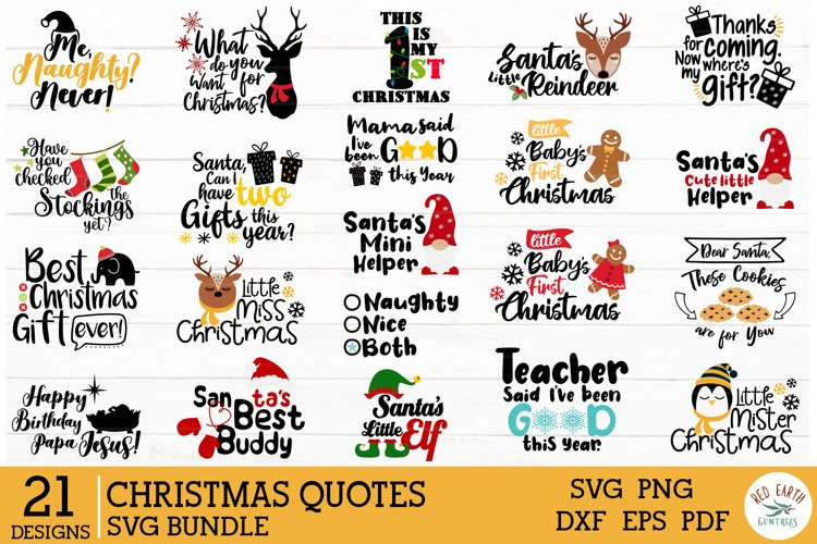 Christmas quotes bundle SVG,funny christmas decal svg,gnome