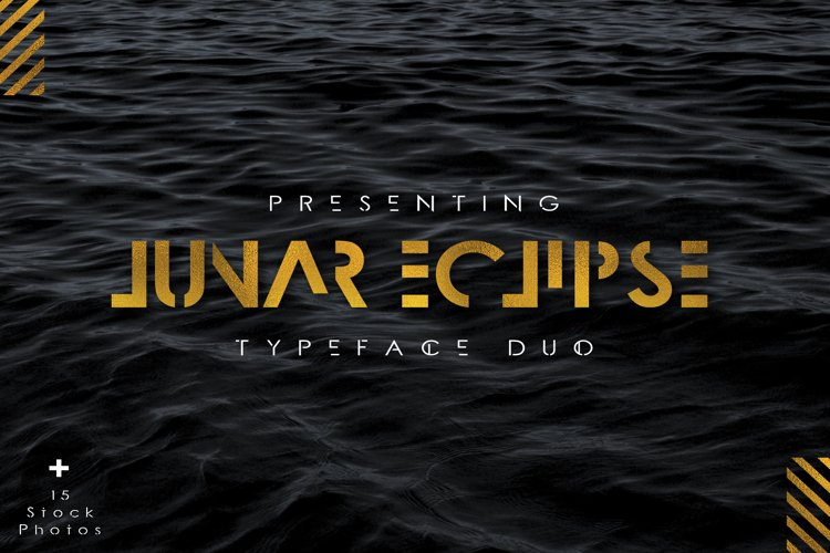 Lunar Eclipse Font Duo + Extras example image 1