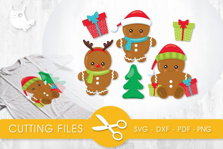 Cute Gingers cutting files svg, dxf, pdf, eps included - cut files for cricut and silhouette - Cutting Files SVG example image 1