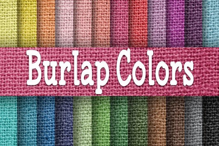 Burlap Colors Digital Paper Textures example image 1