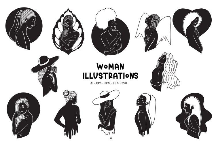 Woman Illustrations
