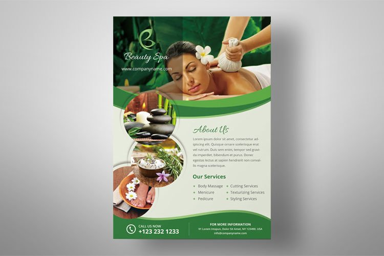 SPA Flyer example image 1