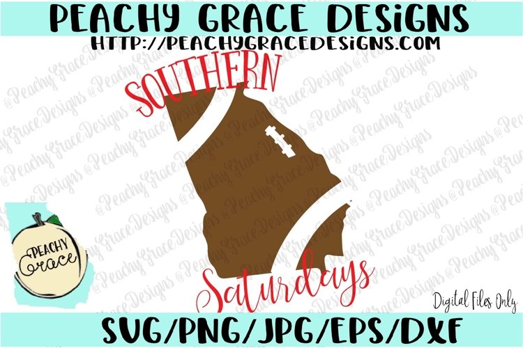 Southern Saturdays SVG example image 1