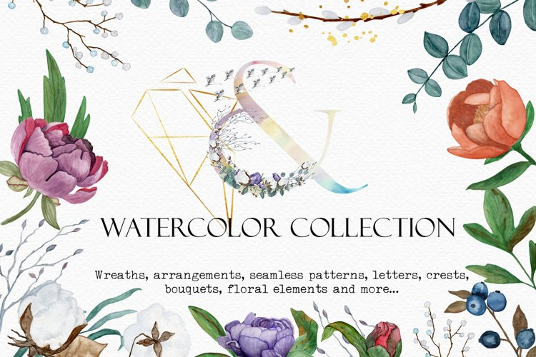 Floral Watercolor Collection example image 1