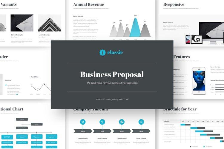 Business Proposal Keynote Presentation Template