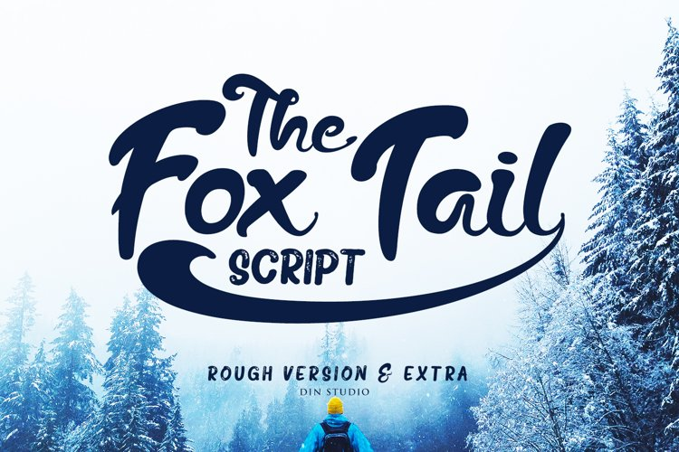 The Fox Tail - Font Duo&Extras example image 1