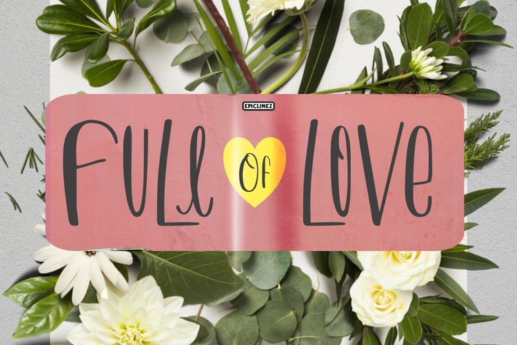 Full Of Love example image 1