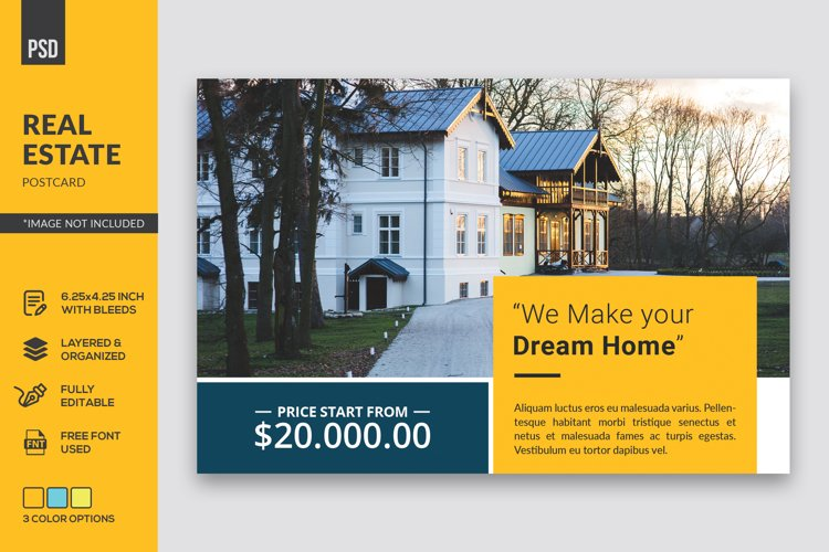 Real Estate Postcard example image 1