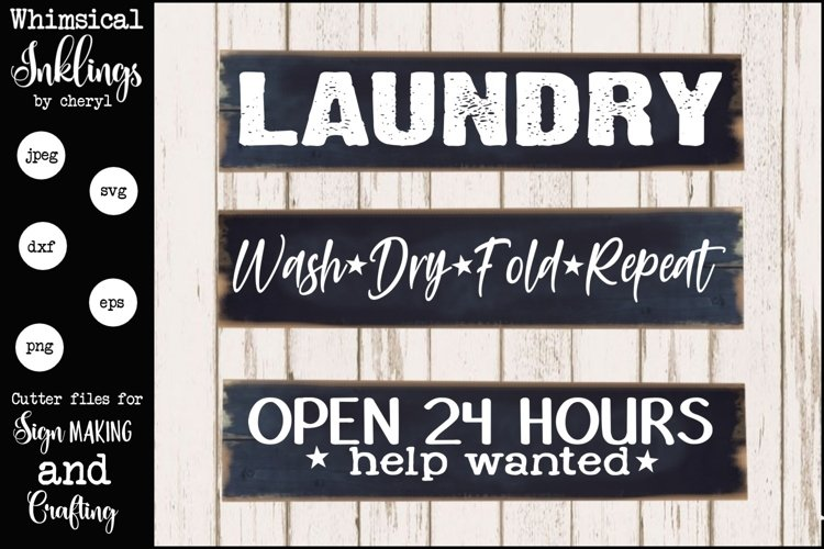 Just Laundry SVG set example image 1