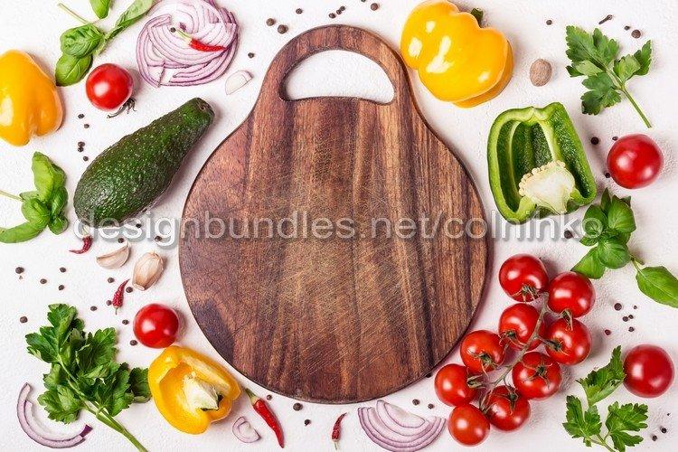 Fresh Organic Vegetables example image 1