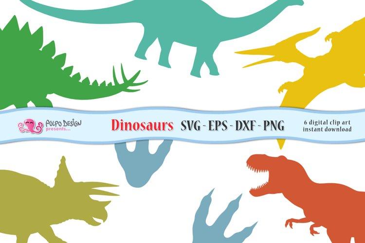 Dinosaur SVG, Eps, Dxf, Png.