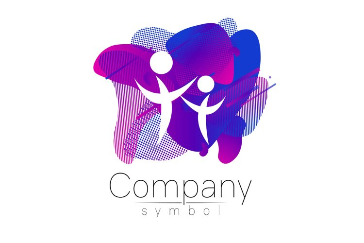 Modern head logo of Company Brand . Profile Human. example image 1