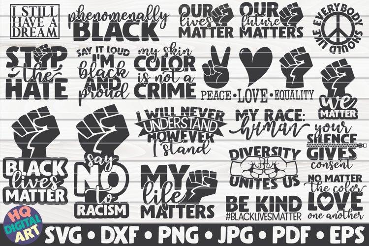 Black Lives Matter SVG Bundle | 19 designs