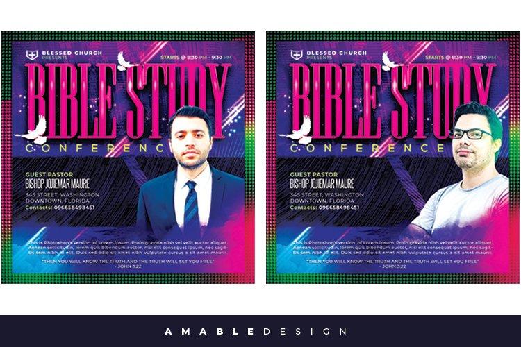 Bible Study Flyer example image 1