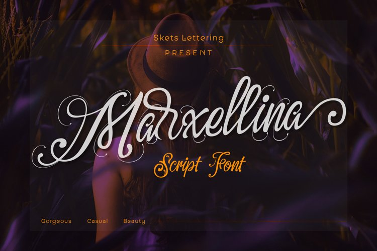 Marxellina Script example image 1