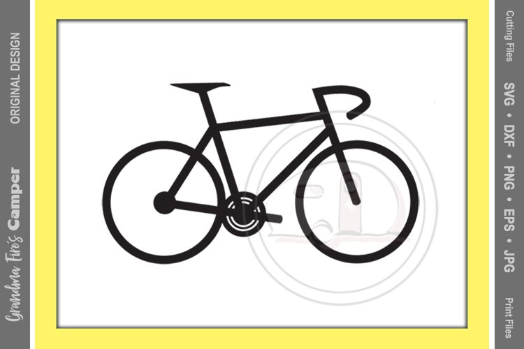 Cycling SVG, Bicycle, Road Bike example image 1
