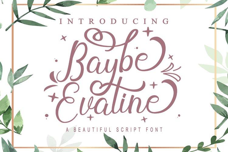 Baybe Evaline example image 1