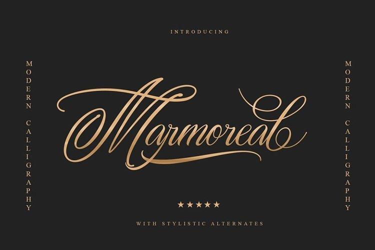 Marmoreal Decorative Script