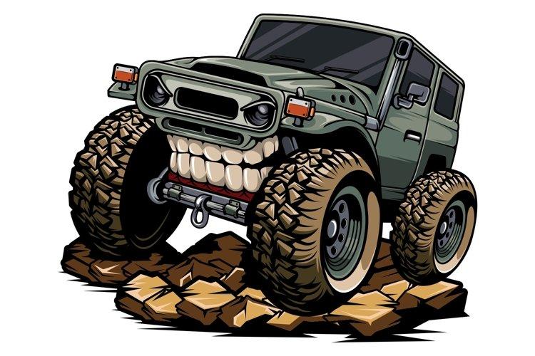 classic jeep tshirt design example image 1