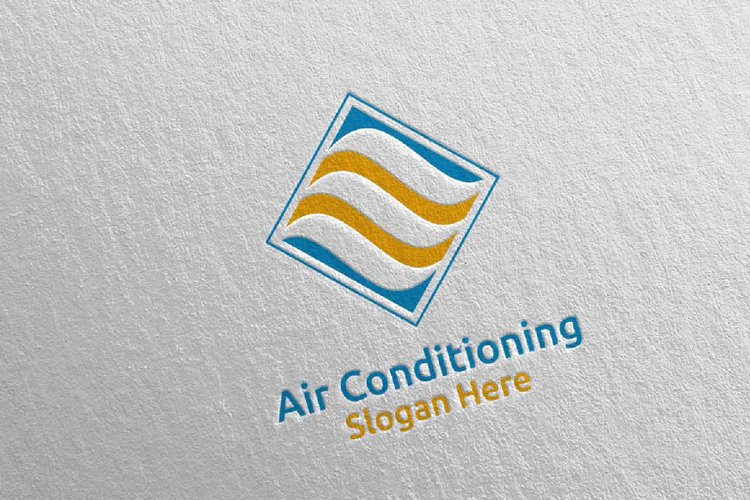 Air Conditioning and Heating Services Logo 6 example image 1