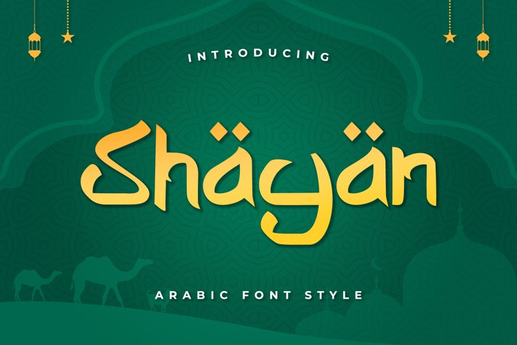 Shayan - Arabic Font example image 1