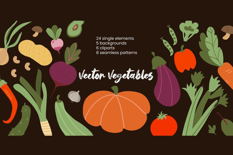 Vector Vegetables example image 1