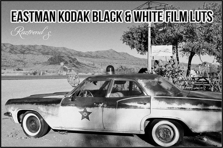 Eastman Kodak Black and White Films LUTs