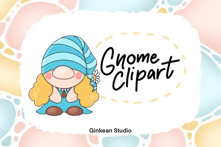 Gnome clipart, gnome png, sublimation, sticker planner example image 1