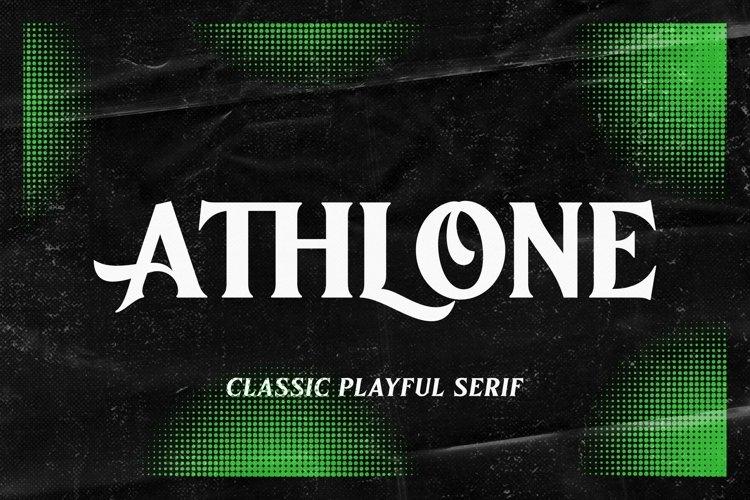 Athlone   Vintage Seri example image 1