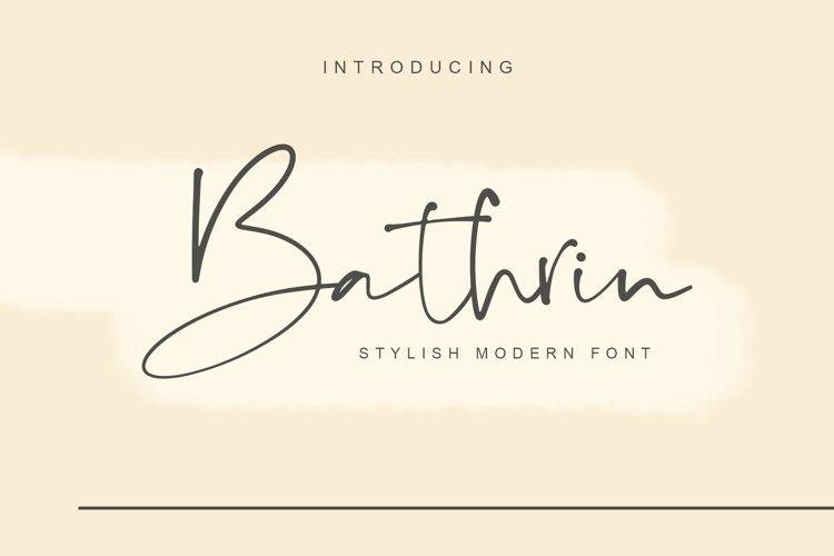 Bathrin example image 1