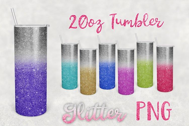 Glitter Tumbler Sublimation PNG | 20oz Tumbler PNG
