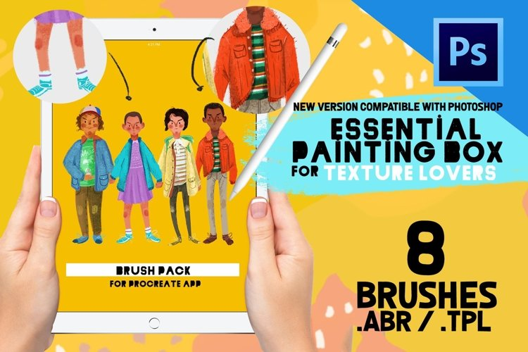 Essential Painting Box Photoshop example image 1