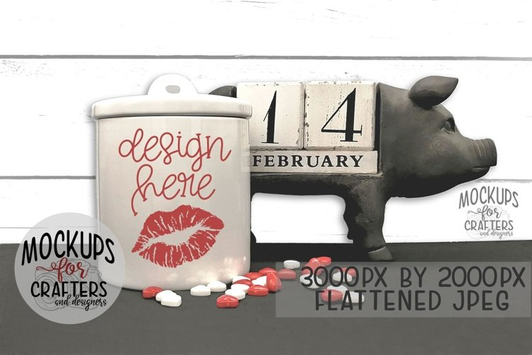 Canister MOCK-UP - Valentines Day, Love