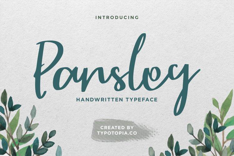Parsley Handwritten Typeface example image 1