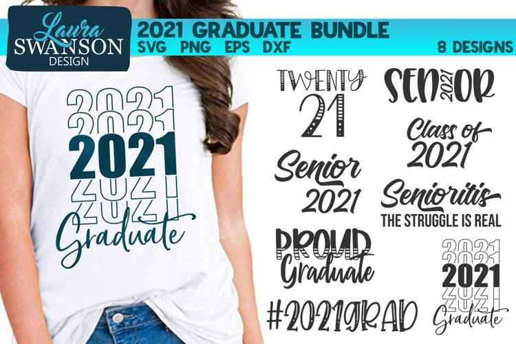 2021 Graduate Bundle SVG, PNG, EPS, DXF
