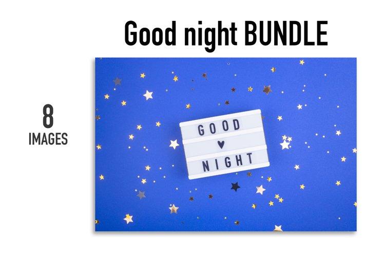 Good night BUNDLE - 8 images.