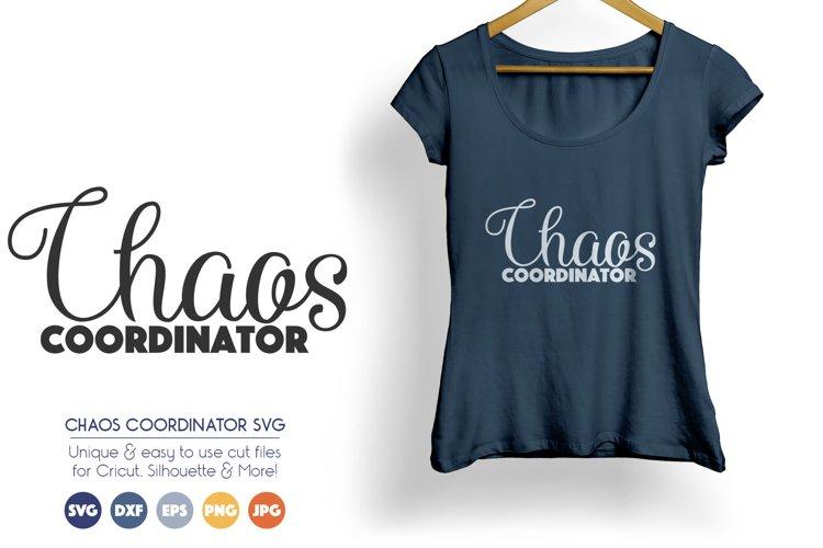 Chaos Coordinator - SVG Cut Files