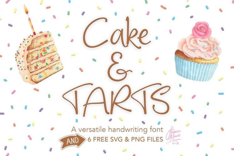 Cake and Tarts cute Handwriting font