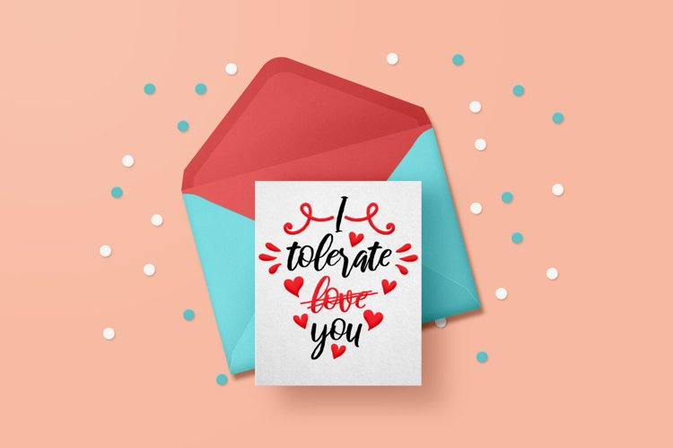 Anti valentine svg for girls and boys example image 1