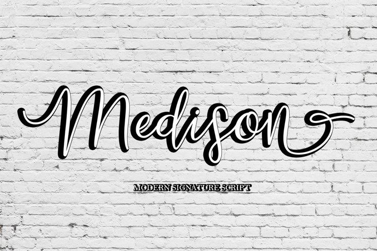 Medison Script example image 1